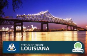 is cbd legal in the state of louisiana
