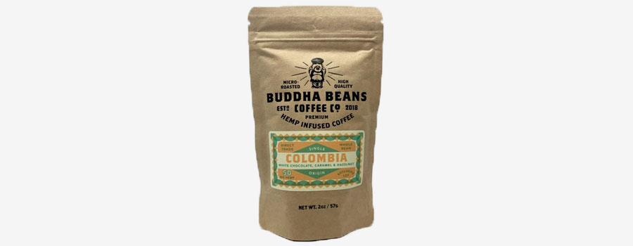 Buddha Beans Coffee Co. Hemp Infused Coffee