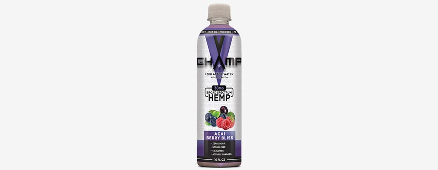 Champ Active Water with Hemp