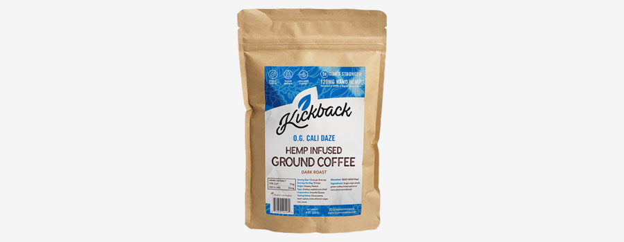 Kickback CBD Ground Coffee