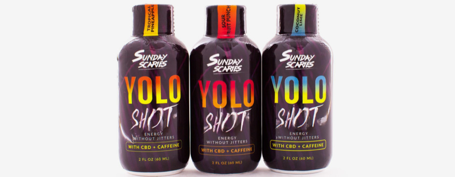 Sunday Scaries YOLO Shot CBD Energy Shot