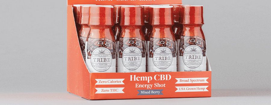 Tribe Hemp CBD Energy Shot