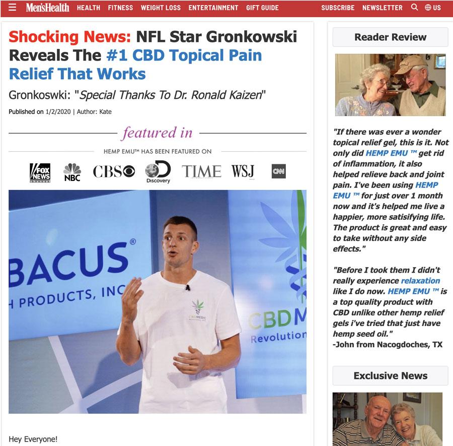 fake-rob-gronkoswki-cbd-product-ads